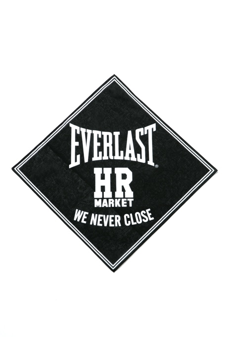 EVERLAST・HRM WE NEVER CLOSEバンダナ