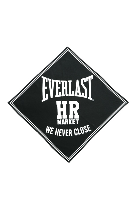 EVERLAST・HRM WE NEVER CLOSE シルクバンダナ