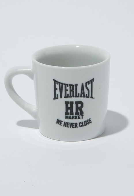 EVERLAST・HRM WE NEVER CLOSEマグカップ