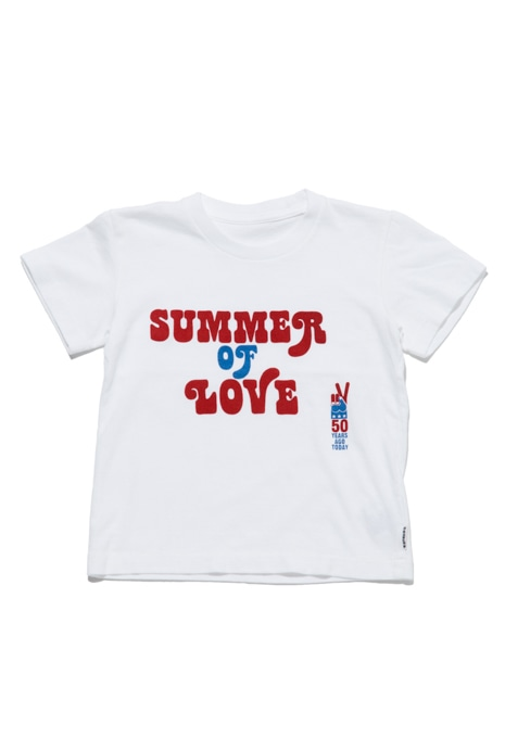 SUMMER OF LOVE PEACE Tシャツ キッズ