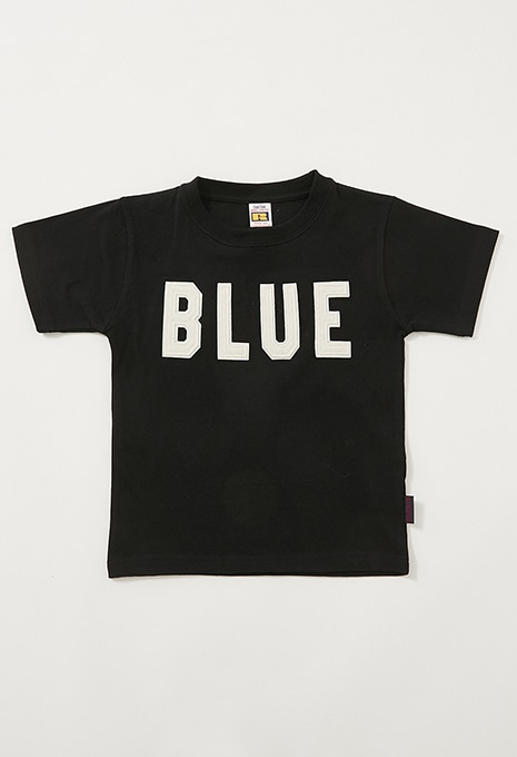 RUSSELL・BLUE BLUE BLUEパッチ Tシャツ キッズ