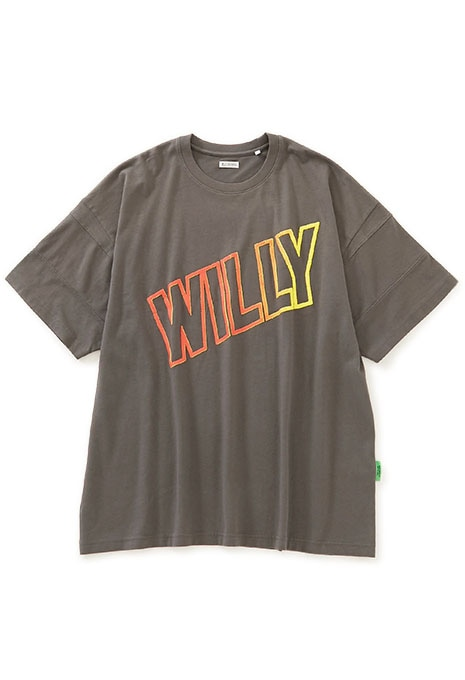 WILLY CHAVARRIA BIG WILLY パネルスリーブ BIG Tシャツ