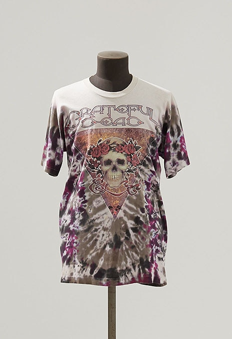 USED GRATEFUL DEAD HALLOWEEN TIE DYE T-SHIRT