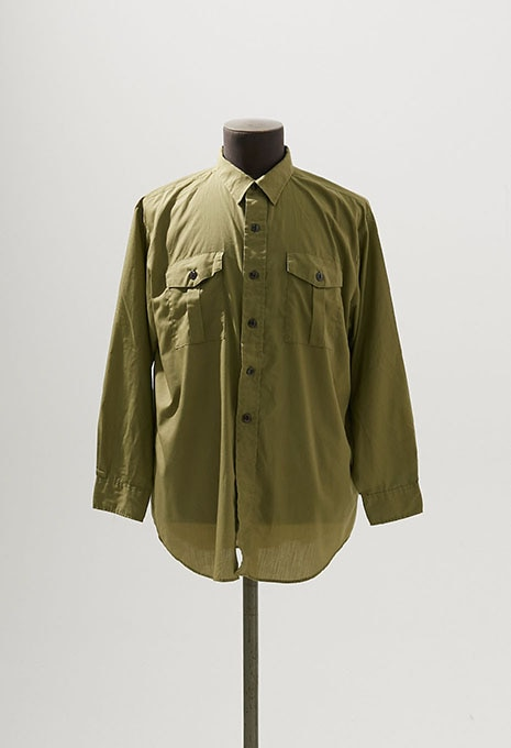 USED BOY SCOUT OLIVE L/S SHIRTS