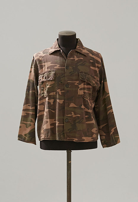 USED STANSPORT CAMOUFLAGE PRINT JACKET