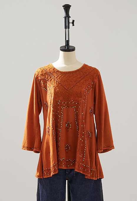 USED INDIA WOMENS SPANGLE TOP