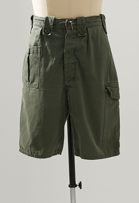 USED BELGIAN ARMY SHORTS