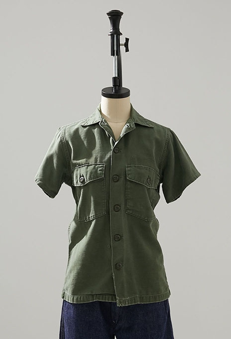 USED US ARMY FATIGUE SS SHIRTS
