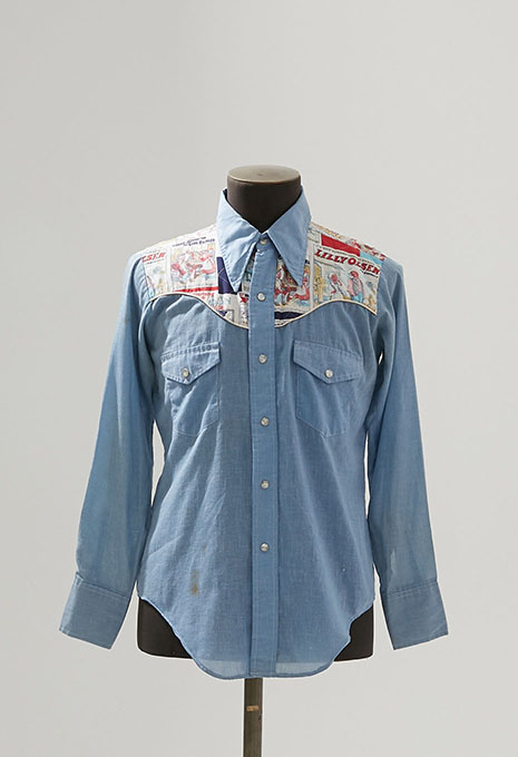 USED UNKNOWN CHAMBRAY WESTERN LS SHIRTS