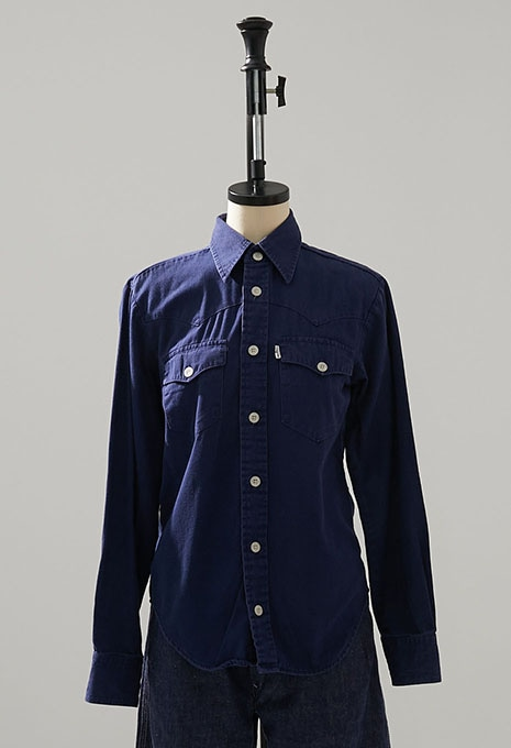 USED LEVIS COTTON LS SHIRTS