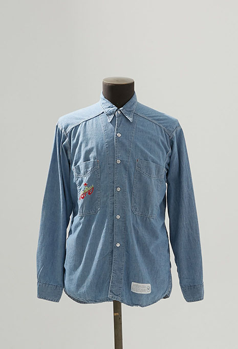USED REPLAY CHAMBRAY LS SHIRTS