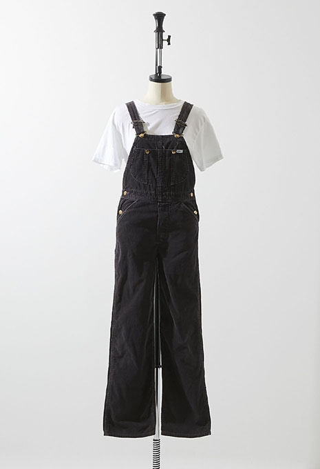 VINTAGE WOMENS LEE CORDUROY OVERALL