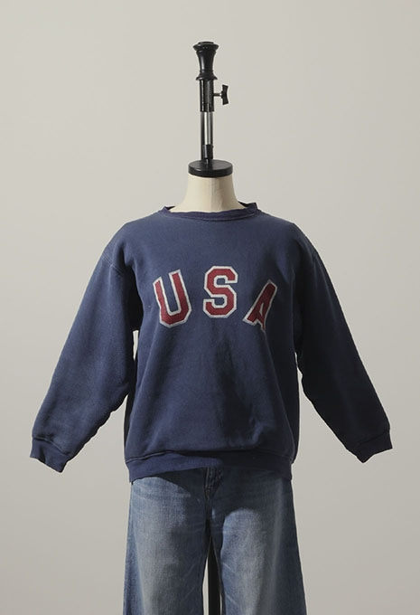 VINTAGE DOUBLE FACE USA SWEAT