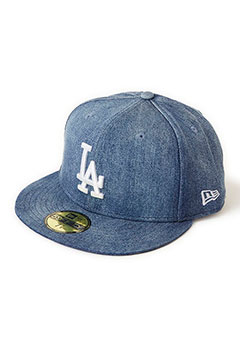 NEW ERA HRM LOS ANGELES DODGERS DENIM CAP