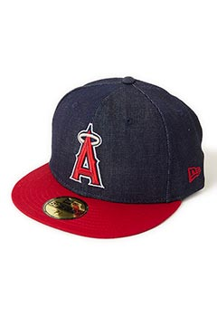 NEW ERA HRM LOS ANGELES ANGELS DENIM CAP