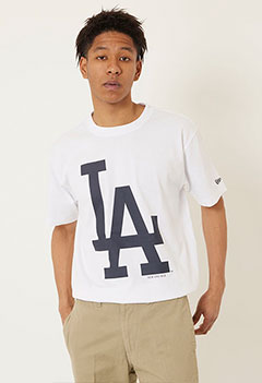 NEW ERA HRM LOS ANGELES DODGERS Tシャツ