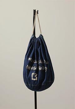 VINTAGE DENIM LAUNDRY BAG