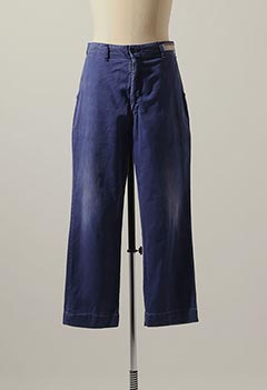 VINTAGE PERFECT COTTON NAVY WORK CHINO TROUSERS