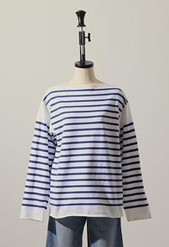 VINTAGE FRENCH MARINE BORDER TEE