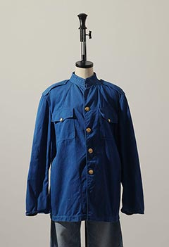 VINTAGE BLUE OFFICER JACKET