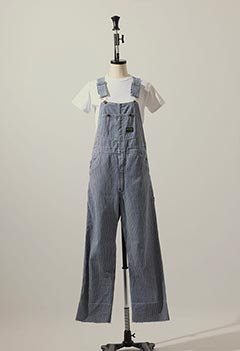 VINTAGE OSHKOSH B GOSH HICKORY OVER ALL